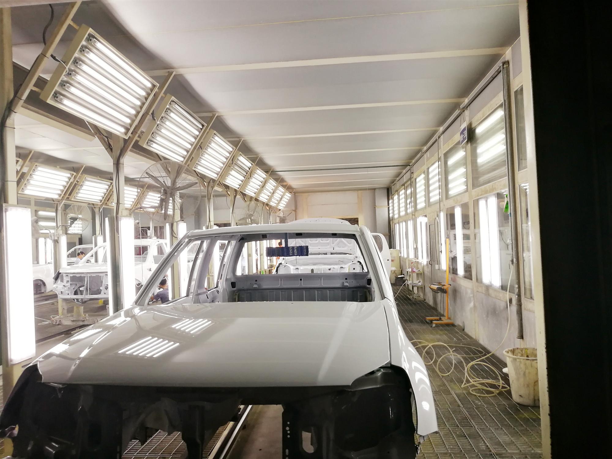 宁夏汽车涂装生产线
