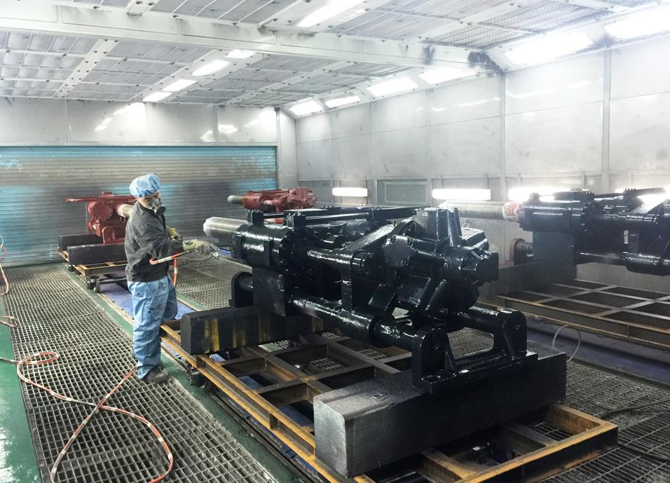 宁夏机械喷漆设备